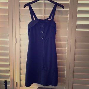 Pin-up dress navy blue